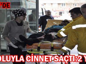 KAYSERİ'DE TEK KOLUYLA AKRABALARINI SİLAHLA YARALADI