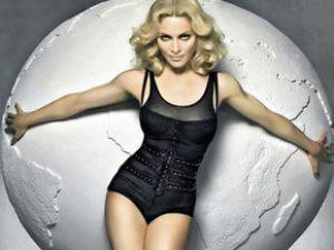 Ünlü Popçu Madonna Ortalığı Fena Karıştırdı VİDEO
