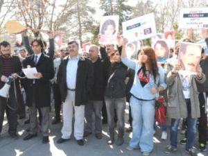 Kayseri'de 'Sivas Davası' Protestosu