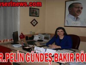 Kayseri Ak Parti Milletvekili Prof.Dr.Pelin Gündeş Bakır Röportajı