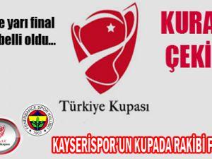 Kayserispor'a Kupa'da Zorlu Rakip
