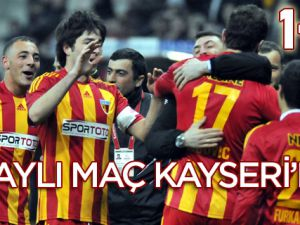 SON BİLET KAYSERİSPOR'UN