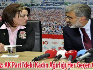 Bakan Yıldız: AK Parti'deki Kadın Ağırlığı Her Geçen Gün Artıyor