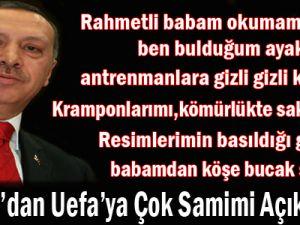 Erdoğan UEFA Kongresi'nde Konuştu