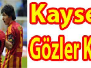 Kayseri'de Gözler Kupada