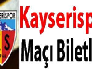 KAYSERİSPOR-İ.B.B MAÇI BİLETLERİ 1 LİRA