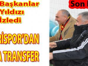 KAYSERİSPOR YILDIZ ADAYINI KADROSUNA KATTI/VİDEO