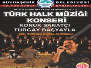KAYSERİ'YE TURGAY BAŞYAYLA GELİYOR
