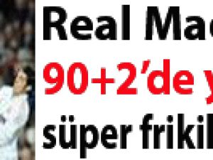 Real Madrid'i 90+2'de yıkan süper frikik video