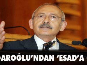 Kılıçdaroğlu'ndan 'Esad'a çağrı