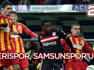 Kayserispor,Samsunspor'u Yıktı!