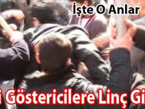 BDP'li Göstericilere Linç Girişimi/Video