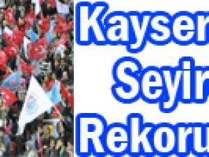 Kayseri Kaski Maçında Avrupa Seyirci Rekoru Kırıldı!