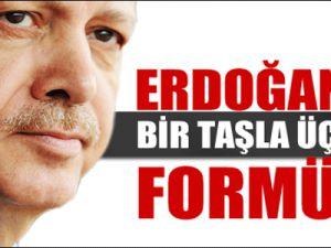 Erdoğan'ın bir taşla üç kuş formülü