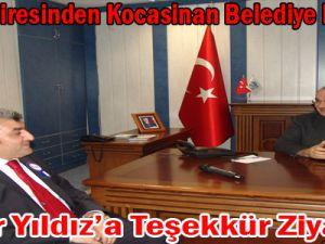 VERGİ DAİRESİNDEN KOCASİNAN'A TEŞEKKÜR