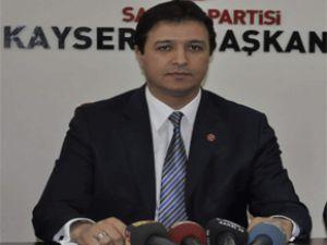 Kayseri Saadet Partisi İl Başkanı Mahmut ARIKAN'dan  İstiklal Marşı'nın Yıldönümü mesajı