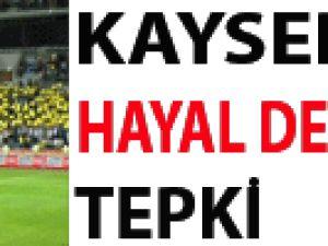 Kayseri'de Hayal Derneğe Tepki