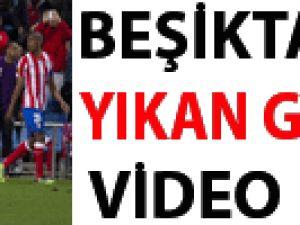 Beşiktaş'ı yıkan goller / VİDEO
