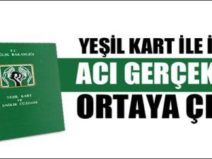 Yeşil kart ile ilgili acı gerçekler ortaya çıktı