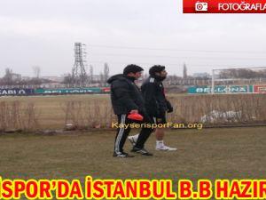 Kayserispor'da İstanbul BB. Hazırlıkları