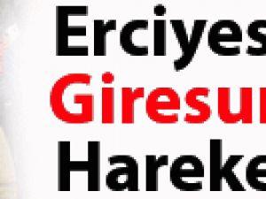 KAYSERİ ERCİYESSPOR GİRESUN'A HAREKET ETTİ