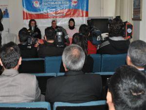 Eğitim-Bir-Sen Kayseri Şubesi Kadınlar Komisyonu Üyesi 8 Mart Dünya kadınlar günü mesajı
