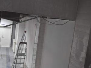 Erciyes üniversitesi kampusünde tavan çöktü