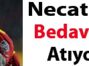 Necati Ateş bedavaya gol atıyor