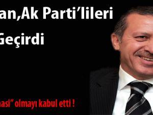 Erdoğan, AK Parti'lileri Kırdı Geçirdi