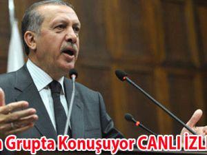 Erdoğan Grupta Konuşuyor CANLI İZLE VİDEO