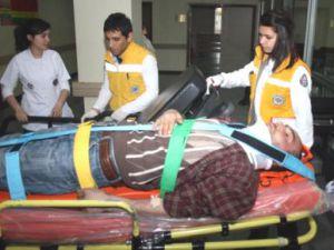 Kayseri'de Epilepsi Hastası 3'üncü Kattan Düştü