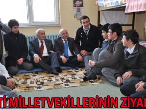 AK PARTİ MİLLETVEKİLLERİ'NİN HAFTABAŞI MESAİSİ