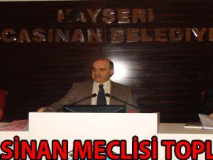 KOCASİNAN MECLİSİ TOPLANDI