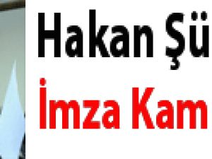 Hakan Şükür için imza kampanyası