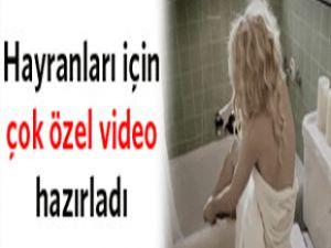 Avril Lavigne Hayranları İçin Özel Video Hazırladı