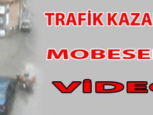 Trafik Kazaları MOBESE Kameralarında VİDEO