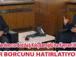 Başbakan Yardımcısı Bozdağ Kılıçdaroğlu'na Kayseri'den seslendi