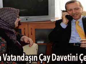Erdoğan Vatandaşın Çay Davetini Çevirmedi VİDEO