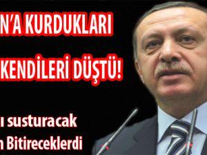 Erdoğan'a Kurdukları Tuzağa Kendileri Düştü!