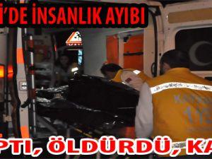 Kayseri'de İnsalık Ayıbı:Çarptı,Öldürdü,Kaçtı