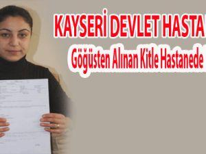 Kayseri'de Göğüsten Alınan Kitle Hastanede Kayboldu