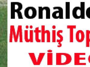 Ronaldo'dan müthiş topuk golü / VİDEO