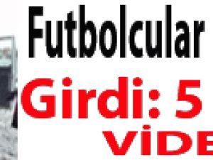 Futbolcular Birbirlerine Girdi: 5 Yaralı Video