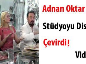 Adnan Oktar, Stüdyoyu Diskoya Çevirdi video