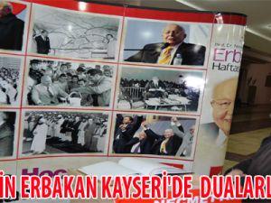 NECMETTİN ERBAKAN KAYSERİ'DE  DUALARLA ANILDI