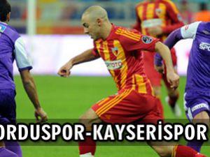 ORDUSPOR-KAYSERİSPOR CANLI ANLATIM