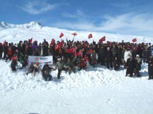 Kayseri'de 120 Beyaz Melek İçin Yürüdüler