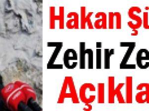 Hakan Şükür'e Sert Eleştiri