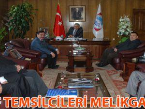 ESNAF TEMSİLCİLERİ MELİKGAZİ ' DE