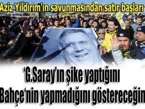 Yıldırım: Burada yargılanan Fenerbahçe